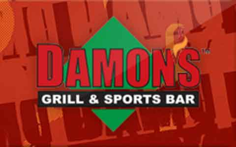 Buy Damon's Grill & Sports Bar Gift Cards