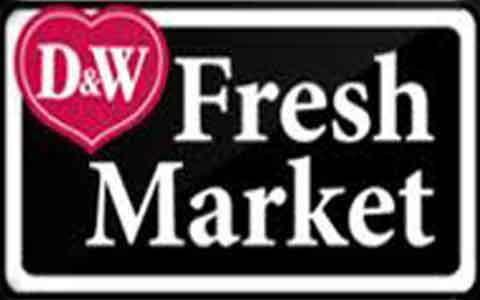 Buy D&W Fresh Market Grocery Gift Cards