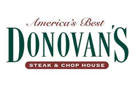 Donovan's Prime Steak House Gift Cards