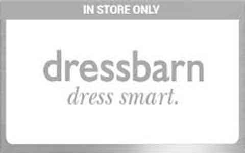 Dressbarn (In Store Only) Gift Cards