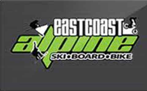 Buy East Coast Alpine Gift Cards