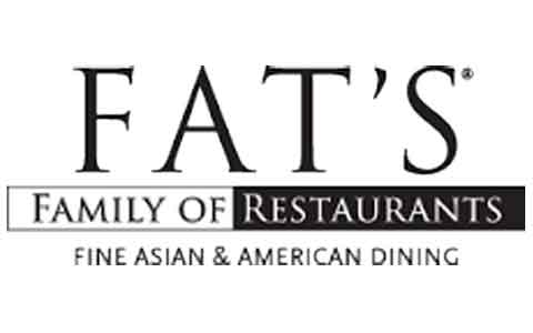Fat's Family of Restaurants Gift Cards