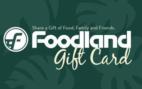 Foodland Hawaii Grocery Gift Cards