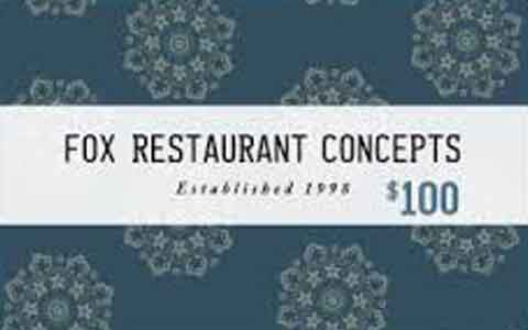 Fox Restaurant Concepts Gift Cards