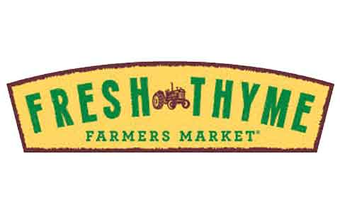 Fresh Thyme Farmers Market Gift Cards