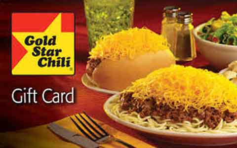 Gold Star Chili Gift Cards