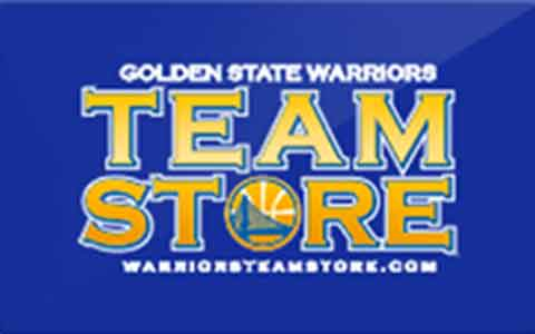 Golden State Warriors Team Store Gift Cards