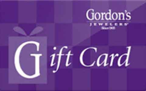Gordon's Jewelers Gift Cards