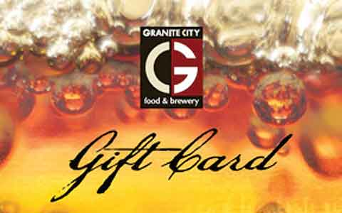 Granite City Food & Brewery Gift Cards