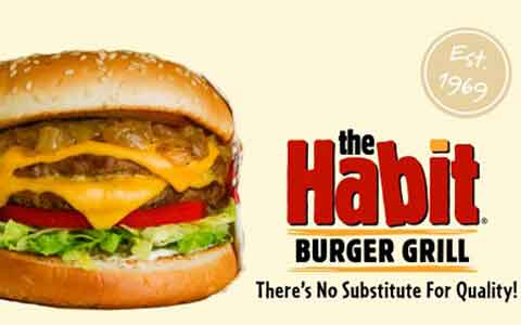 Buy Habit Burger Gift Cards