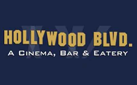 Hollywood Blvd Cinema Gift Cards