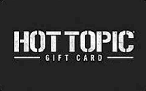 Hot Topic Gift Cards