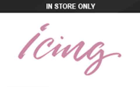 Buy Icing (In Store Only) Gift Cards