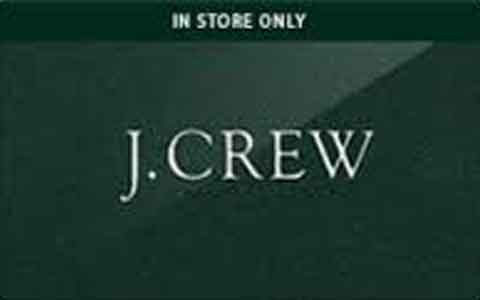 Buy J.Crew (In Store Only) Gift Cards
