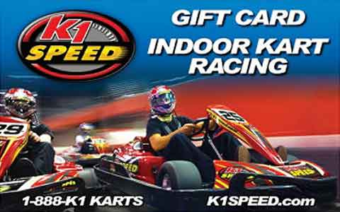 Buy K1 Speed Gift Cards