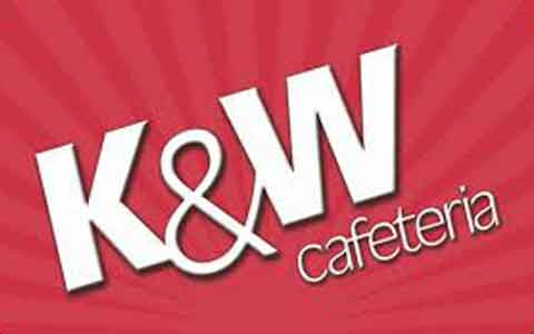 Buy K&W Cafeterias Gift Cards