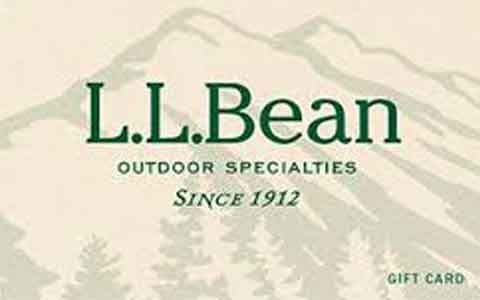 Buy L.L.Bean (Online Only) Gift Cards