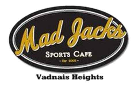 Buy Mad Jack's Sports Cafe Gift Cards