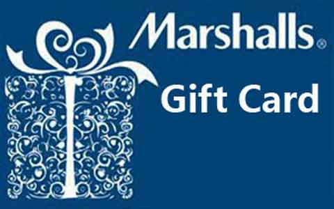 Buy Marshalls Gift Cards