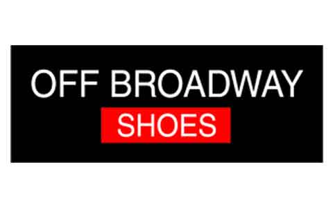 Buy Off Broadway Shoes (In Store Only) Gift Cards