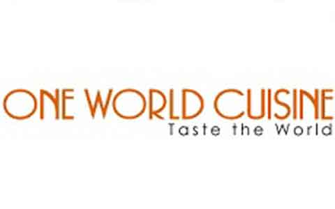 Buy One World Cuisine Gift Cards