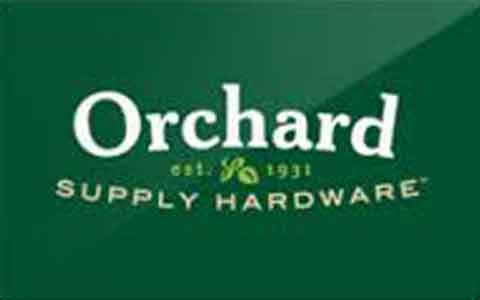 Buy Orchard Supply Hardware Gift Cards