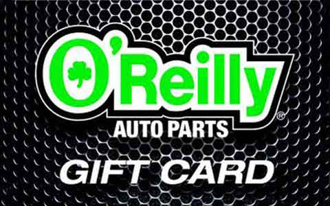 Buy O'Reilly Auto Parts Gift Cards