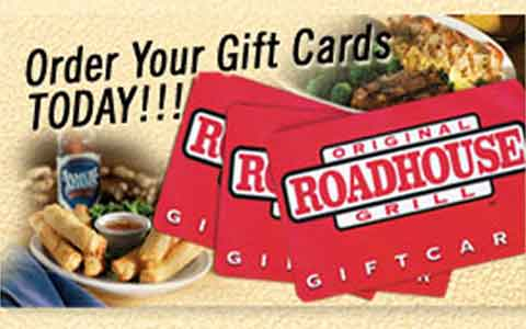 Buy Original Roadhouse Grill Gift Cards