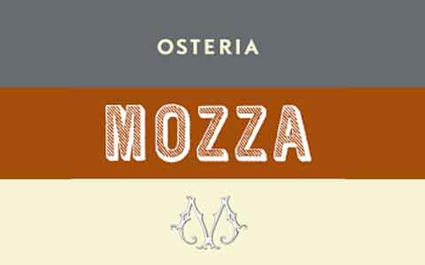Buy Osteria Mozza Gift Cards