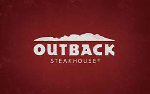 Buy Outback Steak House Gift Cards