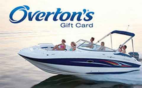 Buy Overton's Gift Cards