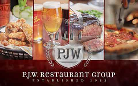 Buy P.J.W. Restaurant Group Gift Cards