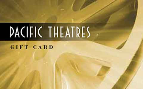 Buy Pacific Theatres Gift Cards