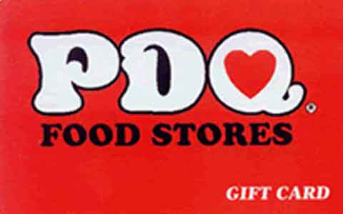 Buy PDQ Food Stores Gift Cards