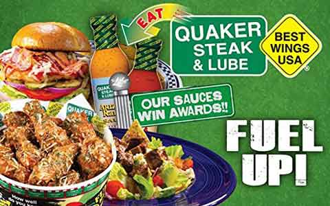 Buy Quaker Steak & Lube Gift Cards