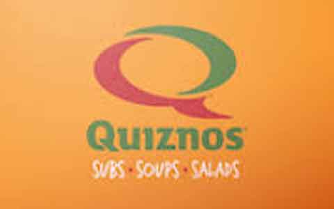 Buy Quiznos Gift Cards