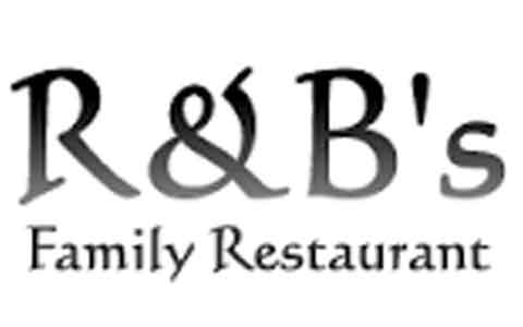 Buy R & B's Family Restaurant Gift Cards