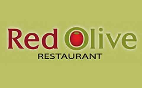 Buy Red Olive Restaurants Gift Cards