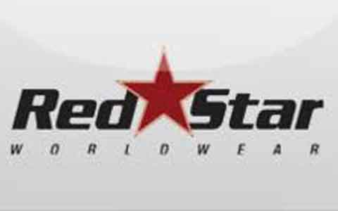 Buy RedStar WorldWear Gift Cards