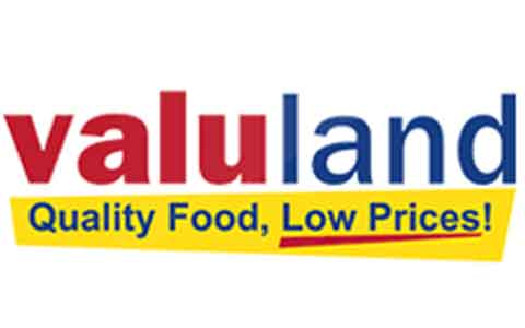 Buy Valuland Grocery Gift Cards