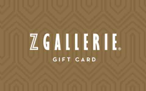 Buy Z Gallerie Gift Cards