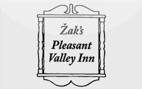 Buy Zak's Pleasant Valley Inn Gift Cards